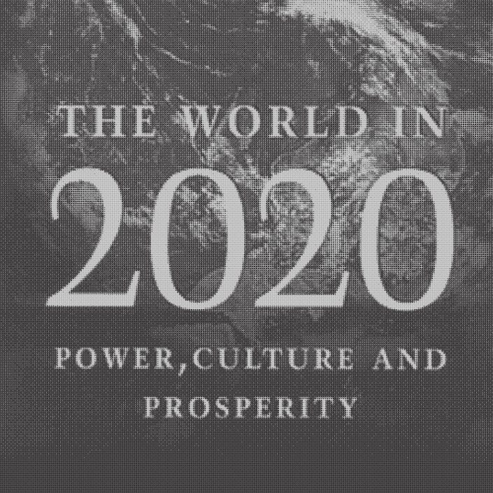 The world in 2020 written by Hamish McRae